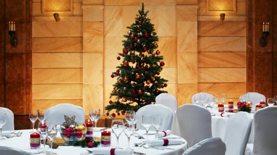 Christmas Eve in Nuremberg Grand Hotel