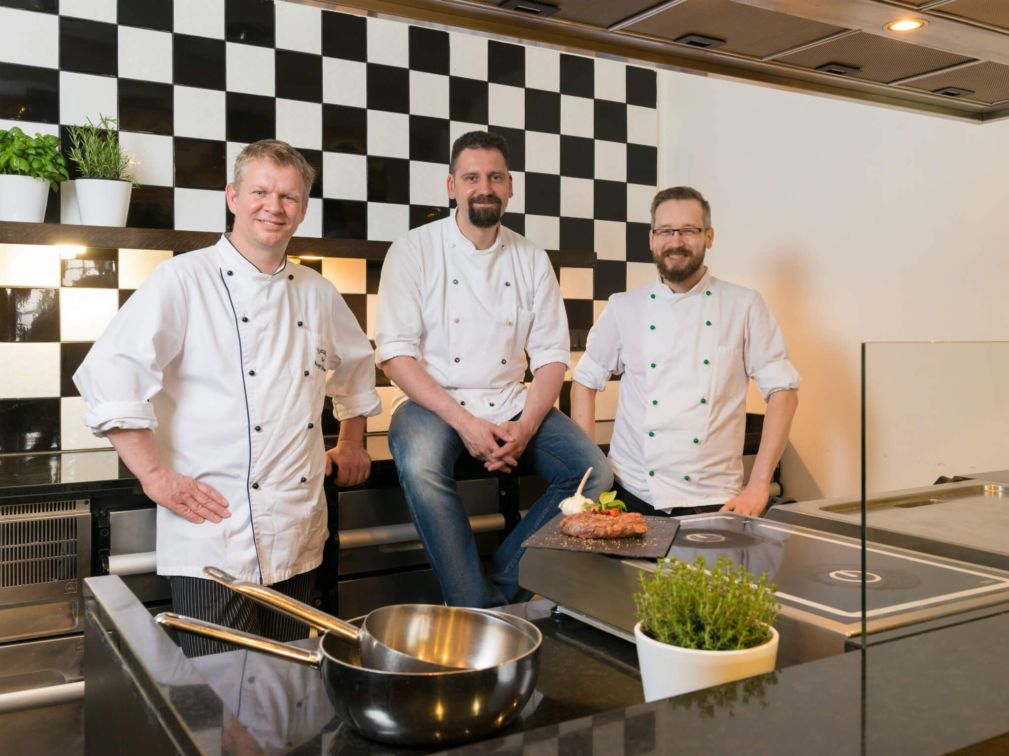 Team of Brasserie Restaurant Nuremberg