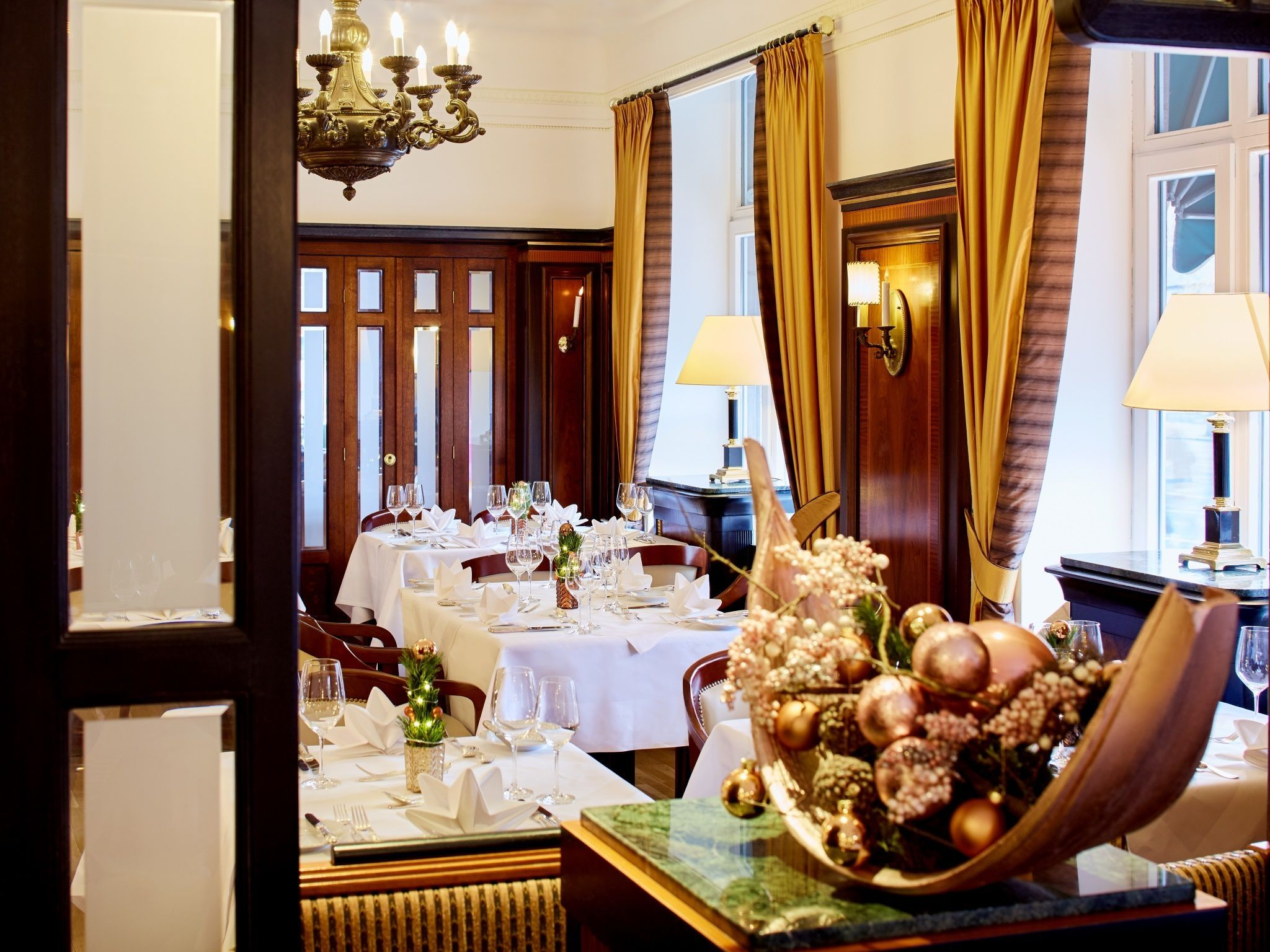 Festive Season in Nurembergs grand Hotel